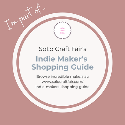 I'm Part of the Indie Maker's Shopping G