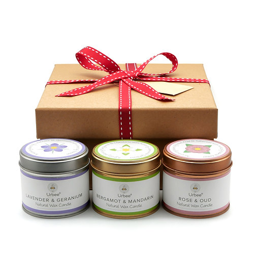 Three Candle Gift Set