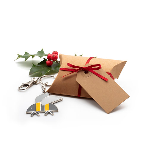 Keyring in Christmas Gift Box