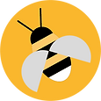 Bee sticker for button.png
