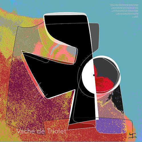 VanLuc Digital Art Vache de Triolet