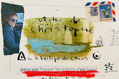 VanLuc Dessin Vache de Christophe