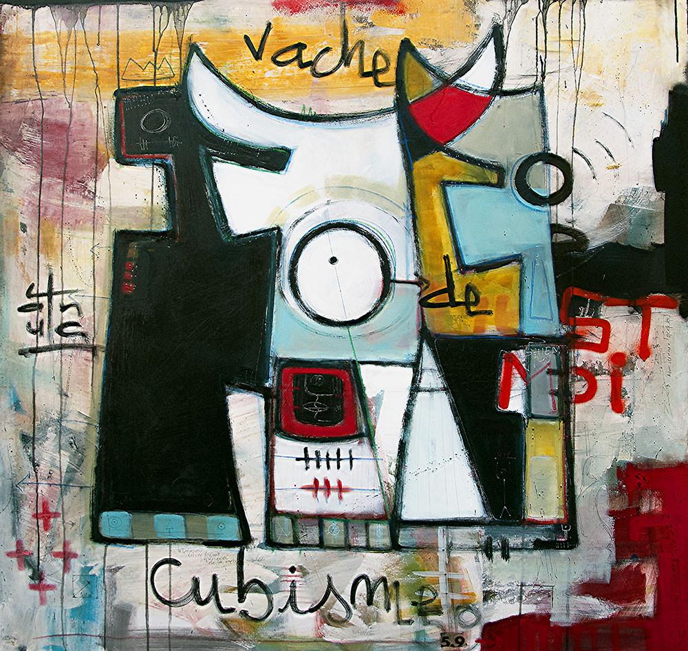 Vache de Cubisme