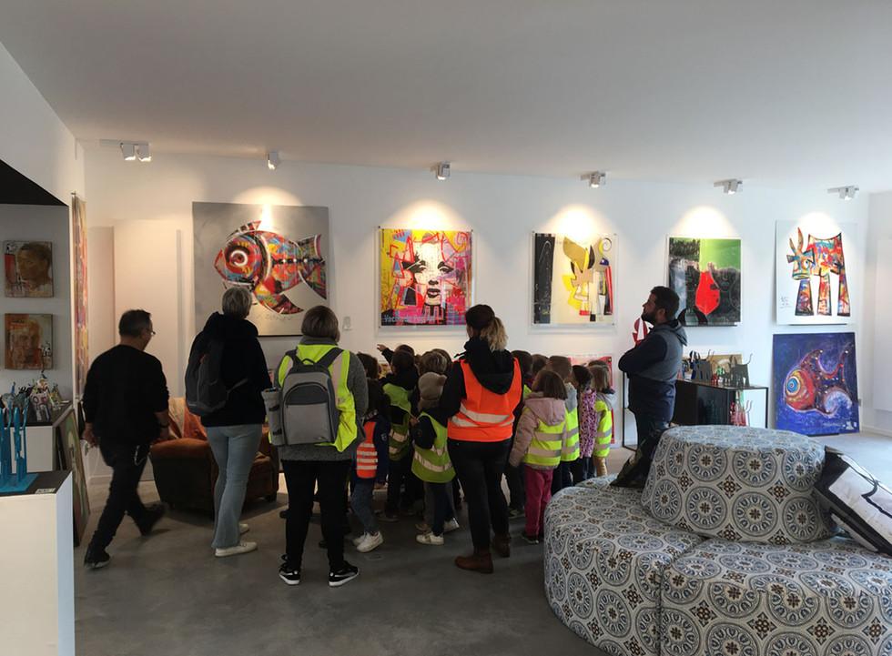 Visite école Atelier-Galerie