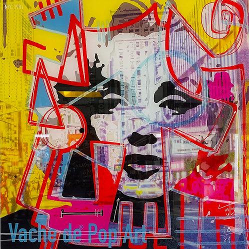 VanLuc Digital Art Vache de Pop Art