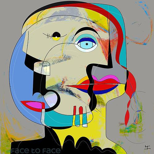 VanLuc Digital Art Face to face