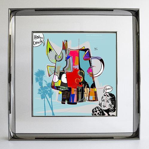 VanLuc Digital Art Holy COVID-19