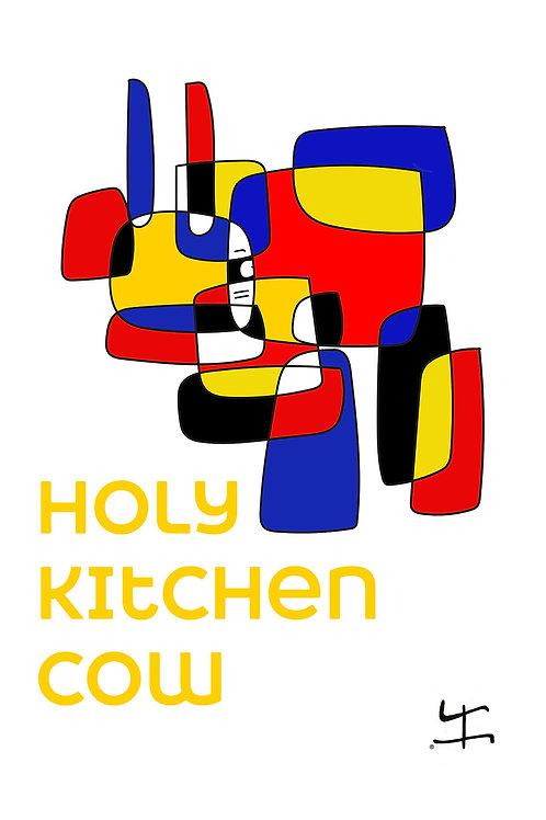 VanLuc Torchon Holy Kitchen Cow