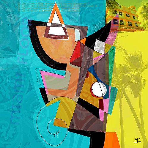 VanLuc Digital Art Vache de Floride