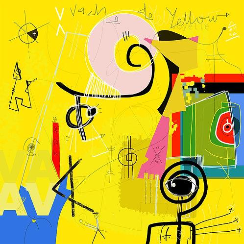 VanLuc Digital Art Vache de Voyelle