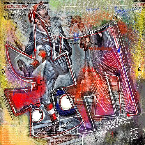 VanLuc Digital Art Vache de Wind Up