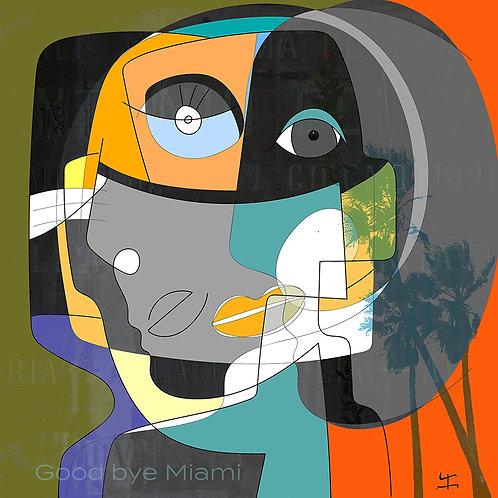 VanLuc Digital Art Vache de Good by Miami