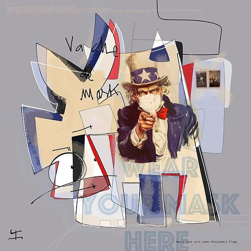 VanLuc Digital Art Vache de Mask
