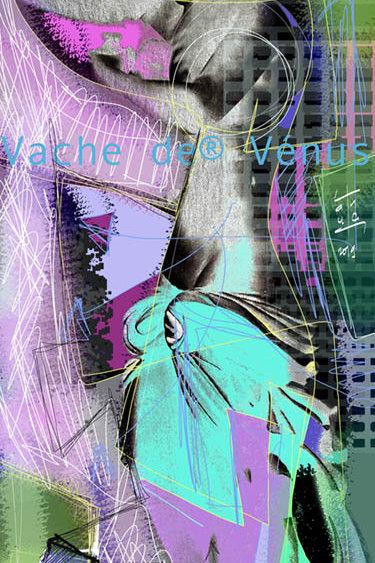 VanLuc Digital Art Vache de Vénus