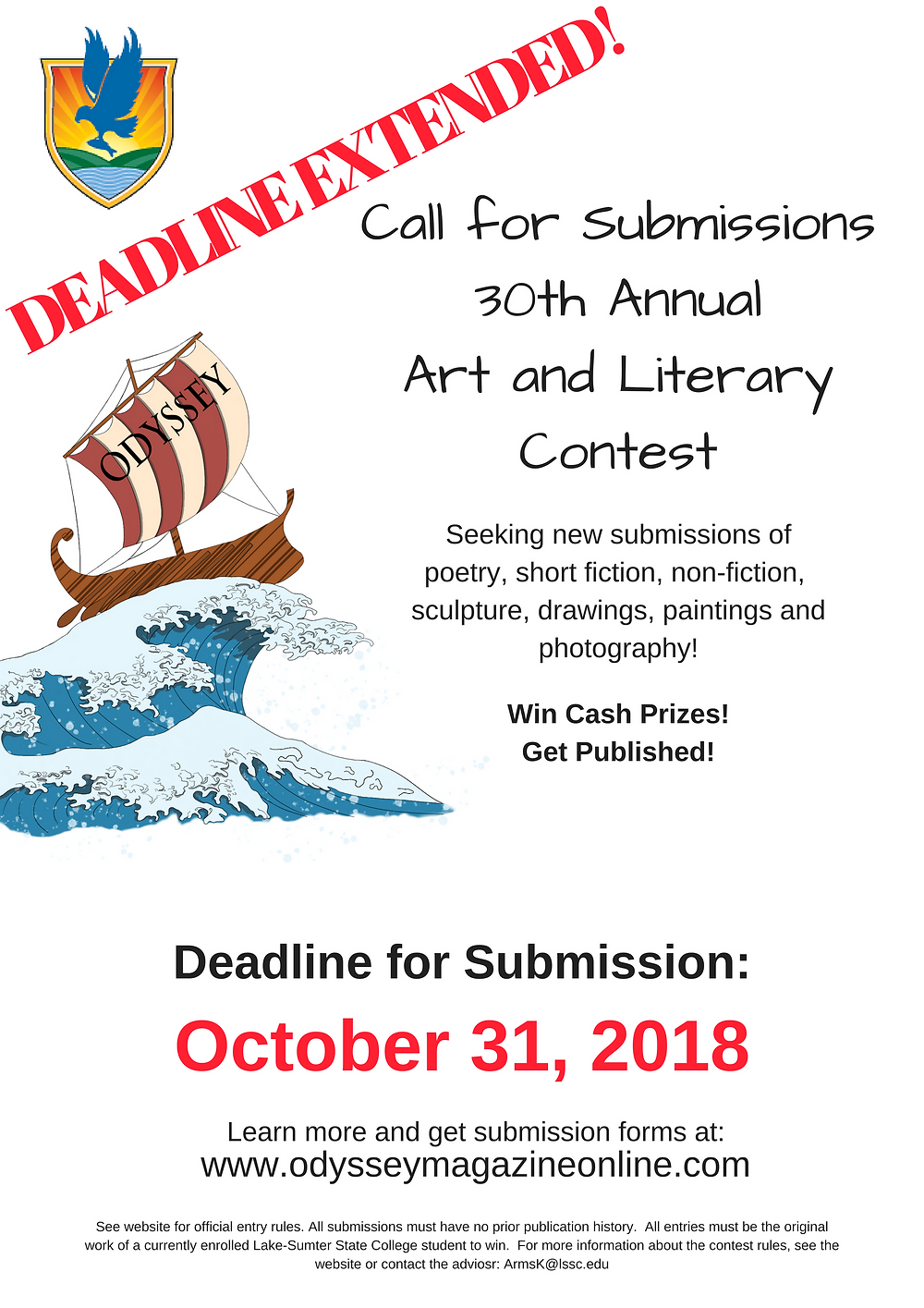 Contest Deadline Extended!