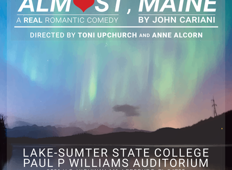 Almost, Maine Opens Soon