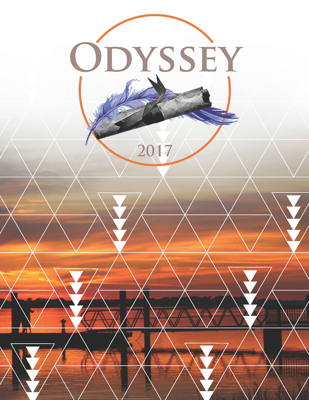 Odyssey 2017 Cover art by Zoe Davis (Designer) and Nolan Lingenfelter (Photographer)