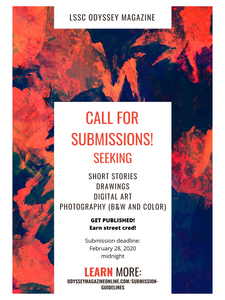 Call for submissions flyer