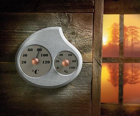 HUKKA DESIGN -Mainiki- サウナ温湿度計