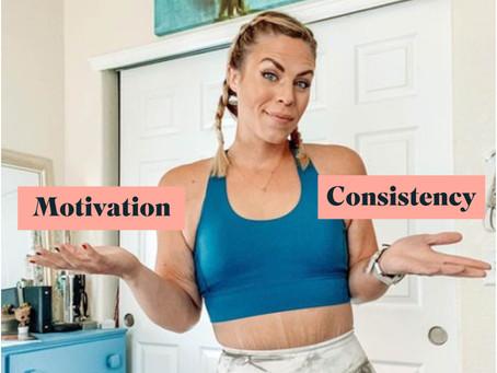 Motivation vs Consistency                       by Michaela (@losingtoblooming)