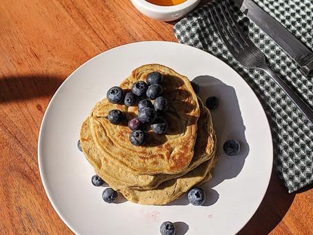 High Protein Pancakes | Hotcakes altos en proteina