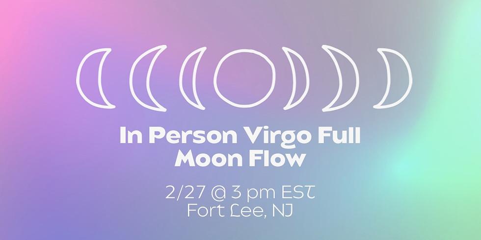 In Person Virgo Full Moon Flow