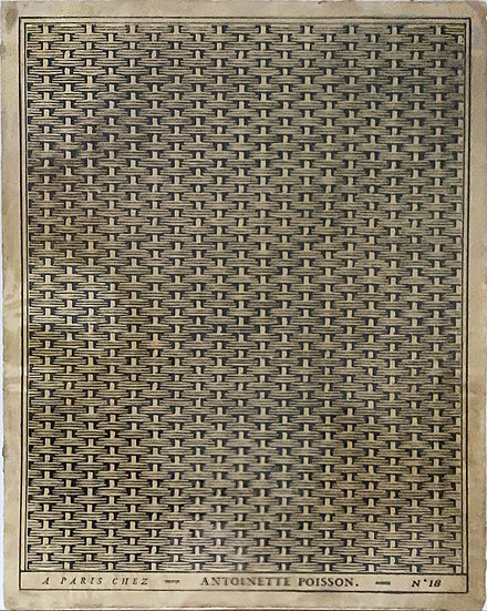 アントワネットポアソン ドミノペーパーN18.b