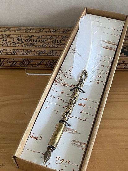 カリグラフィー文具 羽ペン