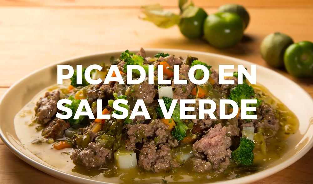 Picadillo en Salsa Verde