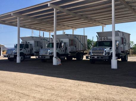 Camiones Repartidores de Alimento