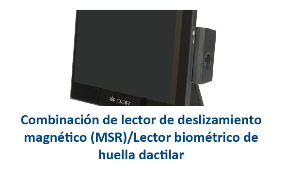 Lector + Biométrico