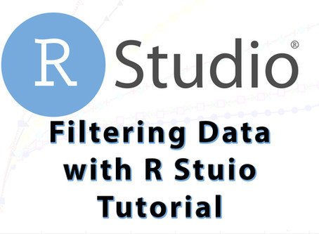 Filtering Data with RStudio