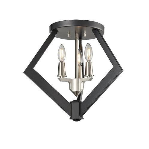 DVI Flechette Flush Mount Light