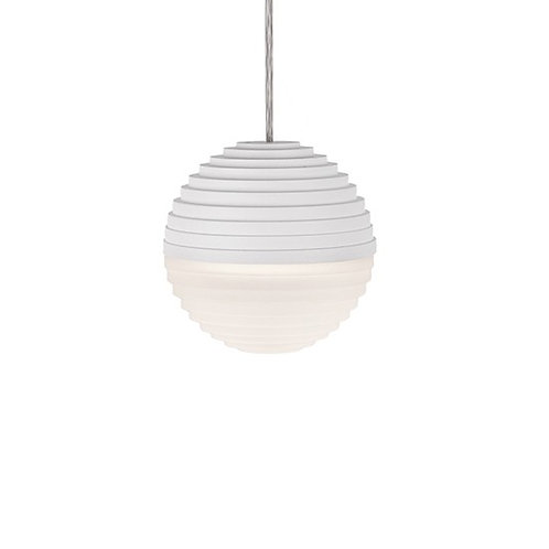 KUZCO SuperNova Pendant Light - White Bottom