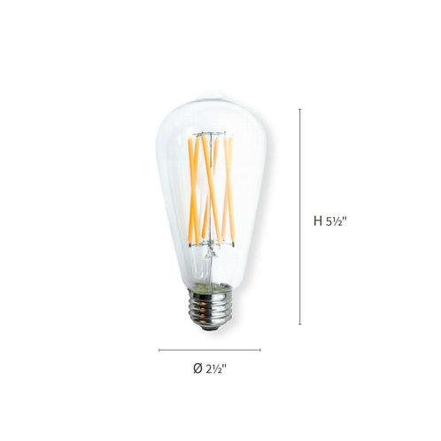 DVI E26/ST19 Edison LED Bulb