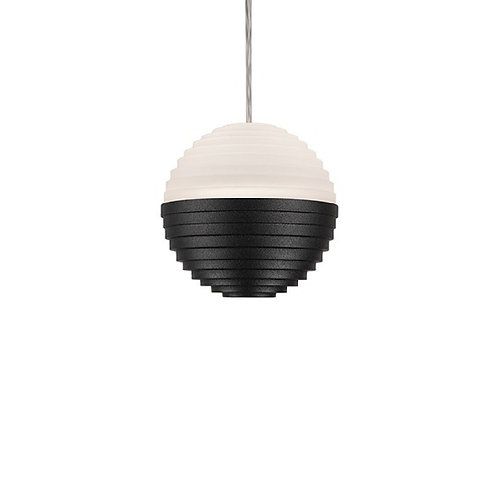 KUZCO SuperNova Pendant Light - Black Bottom