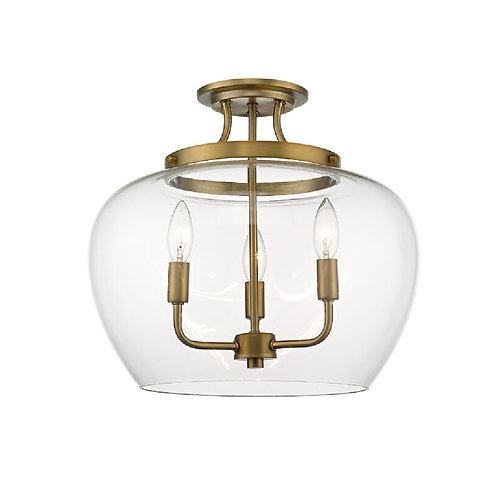 Z-LITE Joliet Semi Flush Mount Light
