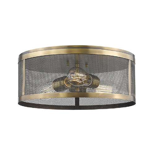 Z-LITE Meshsmith Flush Mount Light