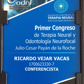 Primer Congreso de Terapia Neural y Odontología Neurofocal