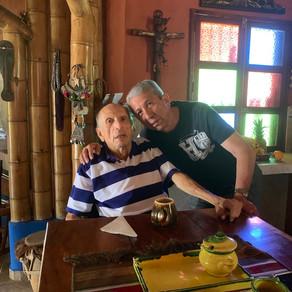 Visitando a mi Maestro en Cali