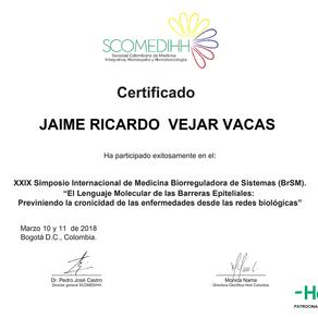 Honrado con un Nuevo Certificado