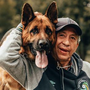 Con mi perro, se llama Whapo