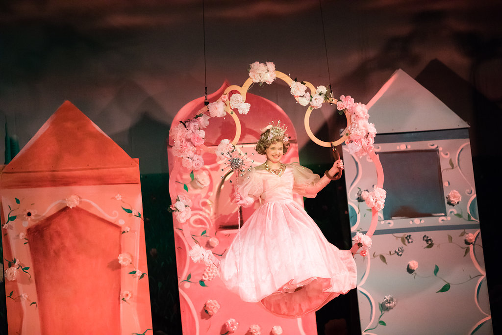 Glinda Appears