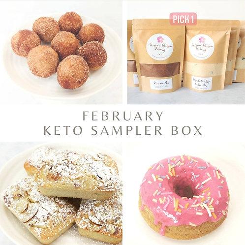 February Sampler Box