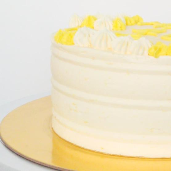 Lemon Cake with Lemon Buttercream