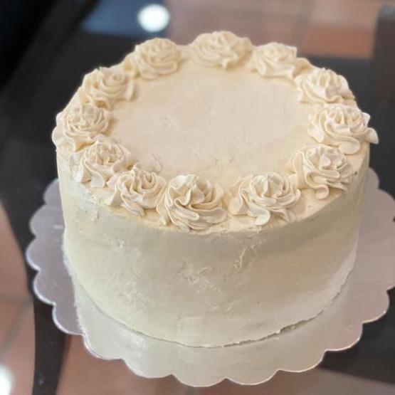 Vanilla Cinnamon Spice Cake