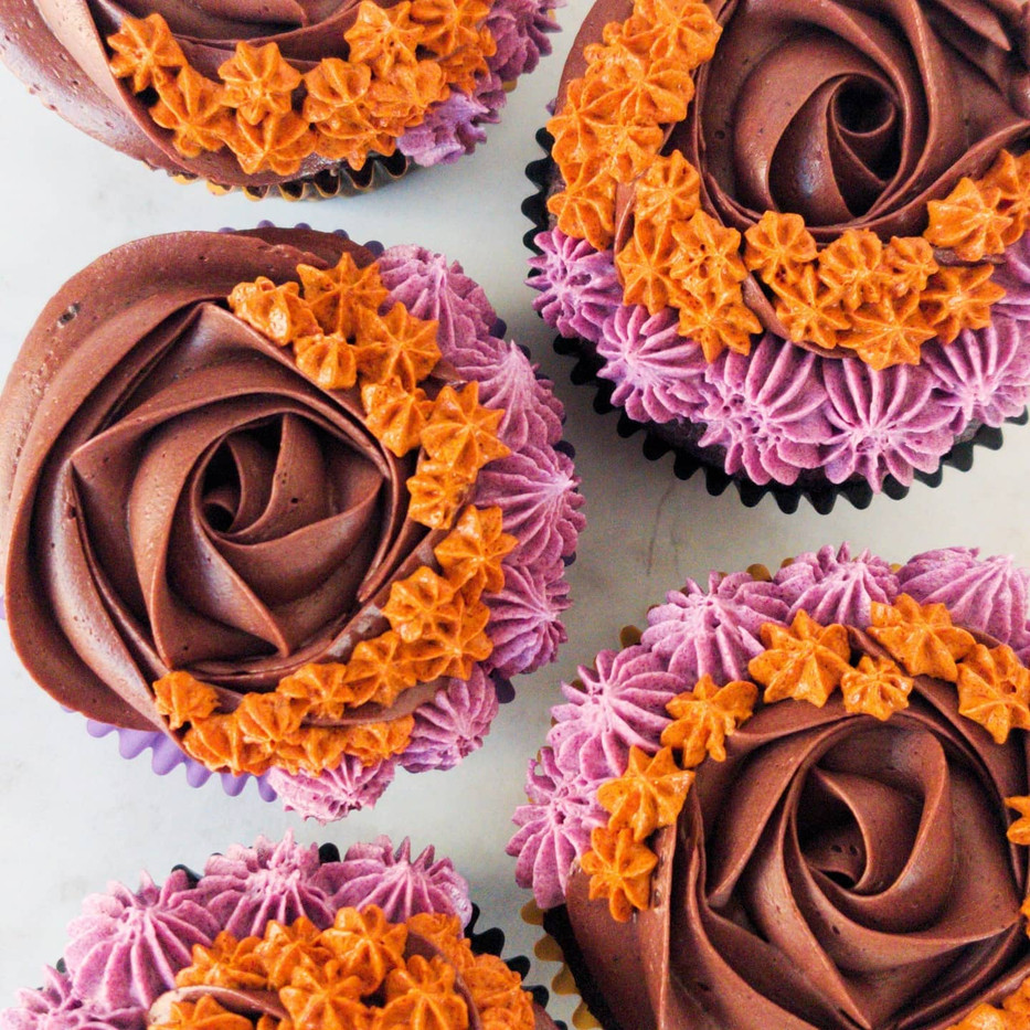 Halloween Special - Dark Chocolate Cupcakes