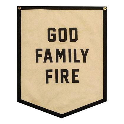 Banner God Family Fire™