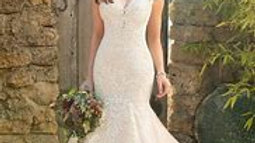 Wedding gown Eddie K
