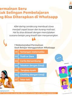 7 Permainan Seru yang Bisa Diterapkan di Whatsapp untuk Selingan Pembelajaran.jpg